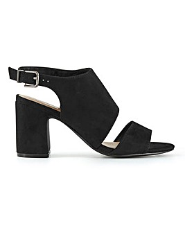 Mila Heeled Sandals Extra Wide Fit