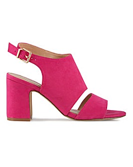 Mila Heeled Sandals Wide Fit
