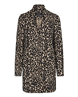 Vero Moda Brushed Leopard 3/4 Jacket