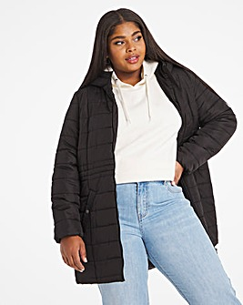 Vero Moda Simone Hooded 3/4 Coat