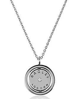 Radley Scotty Spinner Necklace
