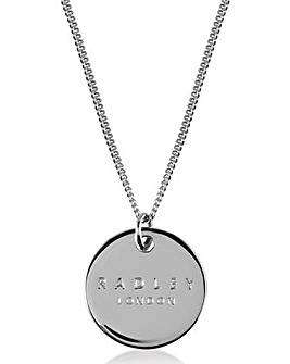 Radley Engravable Coin Necklace