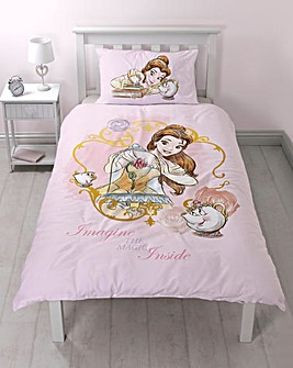 Beauty & The Beast Duvet Set