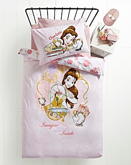 Beauty & The Beast Personalised Duvet