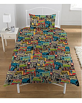 Doctor Who Comic Rotary Duvet
