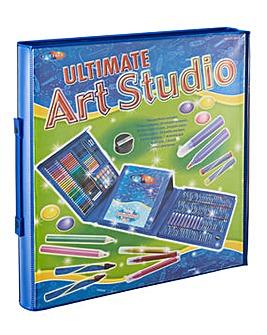 Ultimate 250 Piece Art Studio Case