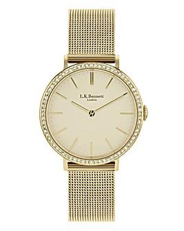 LK Bennett Mesh Bracelet Watch