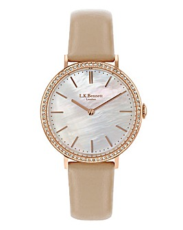 LK Bennett Rose-tone Ladies Watch