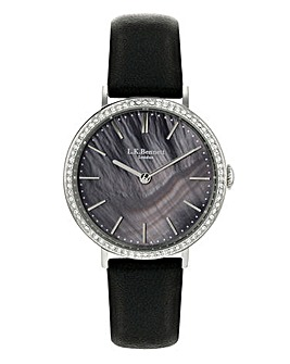 LK Bennett Black Ladies Watch