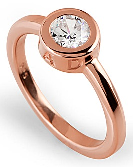 Radley Rose Gold Plated Stone Set Ring