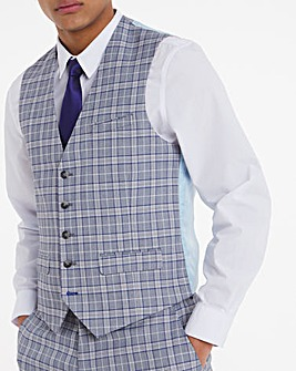 Joe Browns Oslo Check Suit Waistcoat