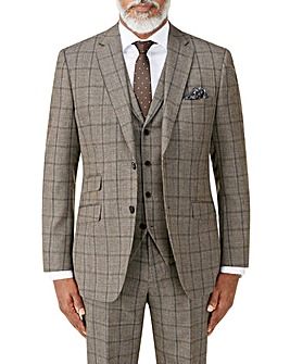 Skopes Pershore Brown Check Jacket