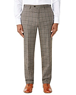Skopes Pershore Brown Check Trouser
