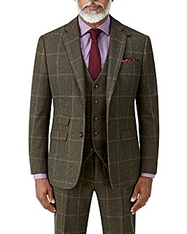 Skopes Morfe Lovat Check Jacket Reg