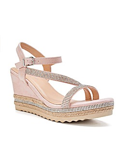 Paradox London Yoki Wedge Sandals