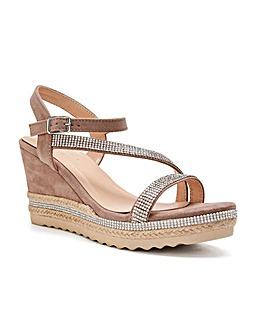 Paradox London Yoki Wedge Sandals