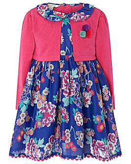 Monsoon Baby Helena Cardigan Dress