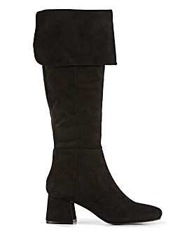 Bentley High Leg Boots Extra Wide Fit Extra Curvy Plus Calf
