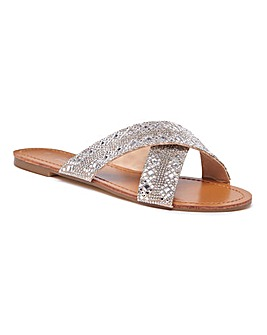 Paradox London Nahla Flat Sandals