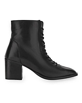 Garland Leather Ankle Boots Wide Fit