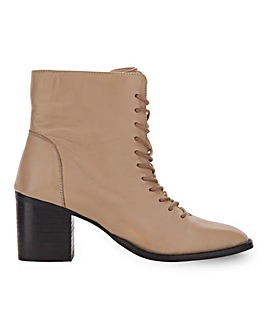 Garland Leather Ankle Boots Extra Wide Fit