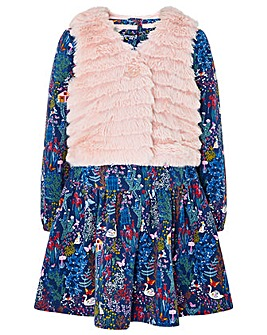Monsoon Baby Saskia Dress And Gilet