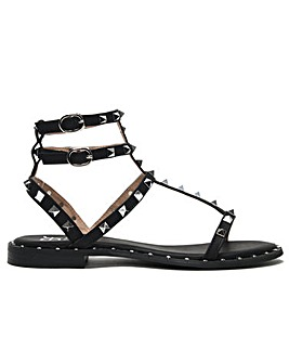 DF By Daniel Cuboid Gladiator Sandals