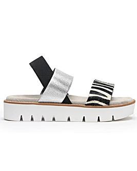 Daniel Ludlow Elasticated Strap Sandals