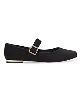 Celeste Mary Jane Shoes Wide Fit