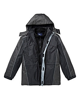 Premier Man Black 3 in 1 Jacket R