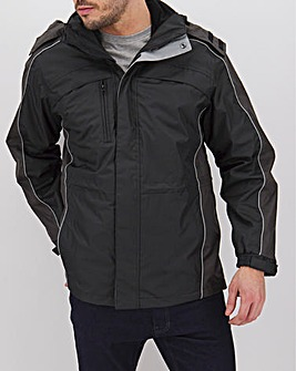 Black 3 in 1 Jacket Regular