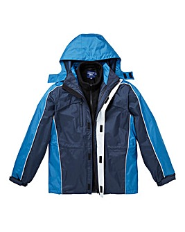 Navy 3 in 1 Jacket Regular