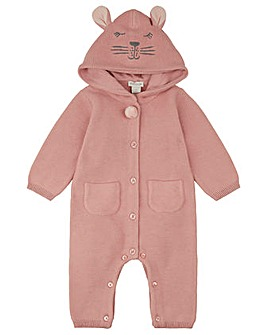 Monsoon Nb Baby Bunny Sleepsuit