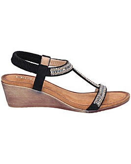 Divaz Pearl Elasticated Sandal