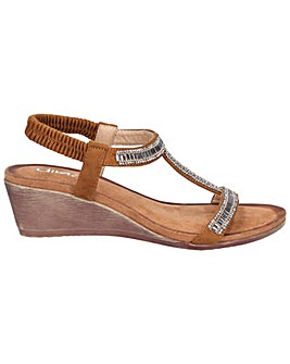 Divaz Pearl Elasticated Sandal
