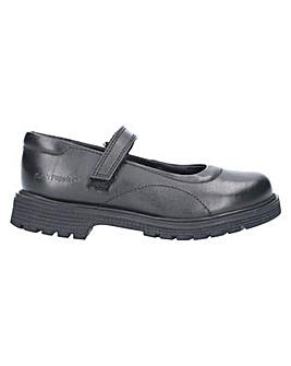 Hush Puppies Tally Junior Velcro Shoe