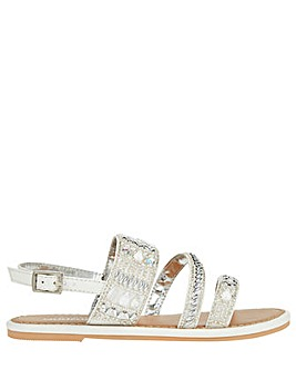 Monsoon Indiana Iridescent Sandal