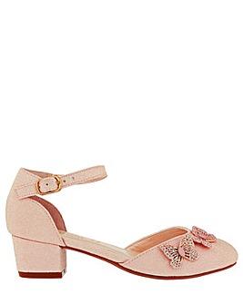 Monsoon Effie Sparkle Butterfly Shoe