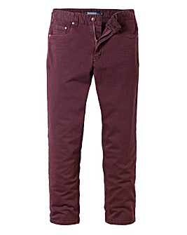 UNION BLUES Gaberdine Jeans 31In Leg Length