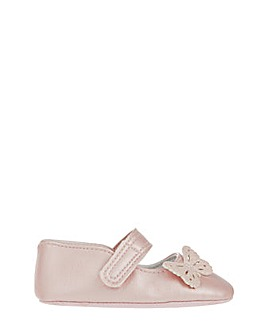 Monsoon Pink Butterfly Bootie