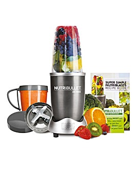 NutriBullet NBL8 600 Series Graphite 8 Piece Blender