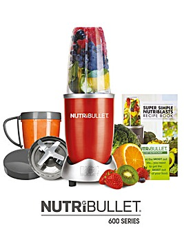 Nutri Bullet 600 Series - Red 8 piece