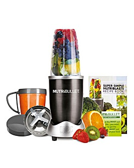 NutriBullet NBLBK8 600 Series 8 Piece Black Blender
