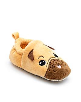 Chipmunks  Baby Pug Slippers