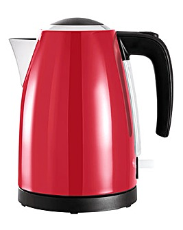 JDW 1.7Litre Rapid Boil Red Kettle