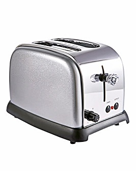Diamond Silver 2 Slice Toaster
