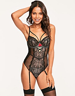 Figleaves Roxanne Fishnet Lace Body