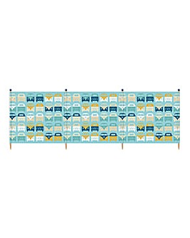 VW Beach Family 4 Pole Windbreak