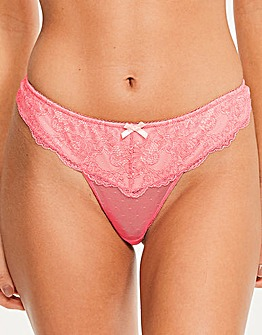 Figleaves Juliette Lace Thong