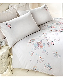 Sincerity Embroidered Duvet Cover Set